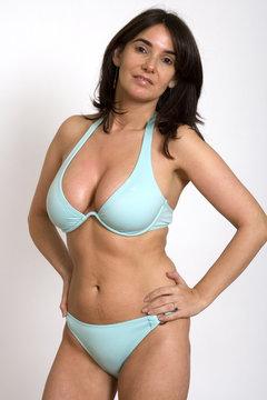 35 Year Old Woman in Bikini