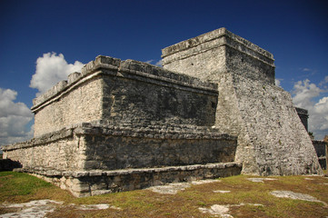 Tulum Mayan Temple, Mexico