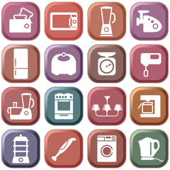 Kitchen home appliances