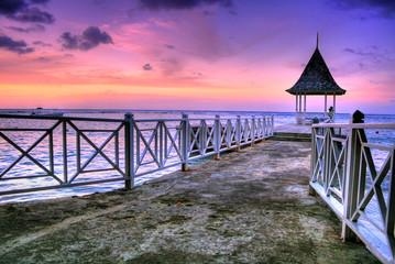 Pier at Ocho Rios, Jamaica
