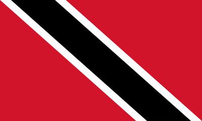 trinidad und tobago fahne flag