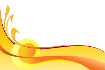 Astratto colori caldi2