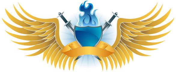 Shield Sword Wings