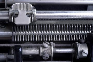 Alter Schreibmschinen-Tabulator