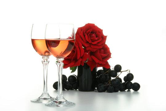 evenement a feter, verres de vin