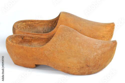 sabots de bois photo libre de droits sur la banque d. Black Bedroom Furniture Sets. Home Design Ideas