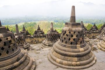 Fototapete - Borobudur Temple, Indonesia