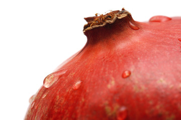Fotoväggar - Pomegranate with waterdrops