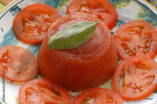 mousse al pomodoro - antipasti - cucina trentino alto adige
