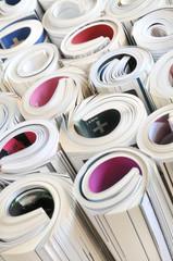 Fotobehang Kranten Zeitschriften