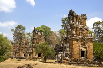 Fototapete - Prasat Suor Prat, Cambodia