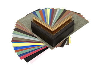 Mats and frame samples