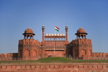 Fototapeten Delhi Red Fort in New Delhi