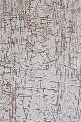 Scratch steel wall
