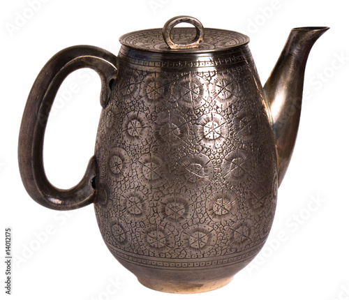 Old Silver Coffee Pot