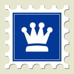 Crown Sign Stamp