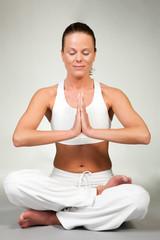 Yoga - Lotus seat (eyes closed)