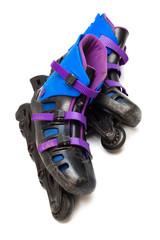 old roller skates