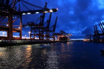 Eurokai Hamburger Hafen - Harbour of Hamburg
