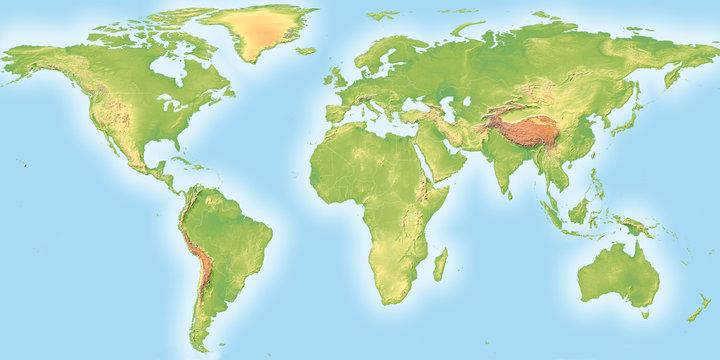 World Topographic