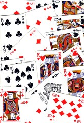 playing cards,  background