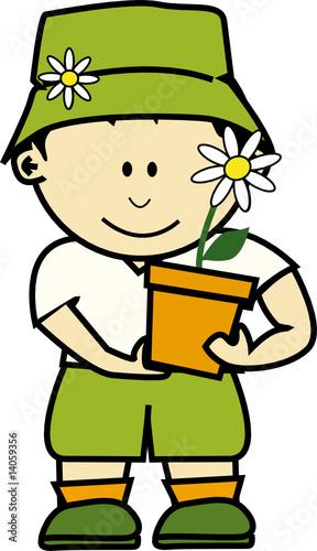 K jardinier 1 fichier vectoriel libre de droits sur la for Jardinier tarif