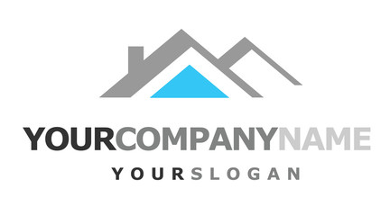 logo with house