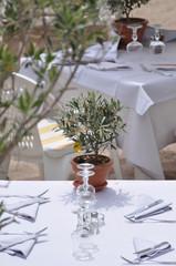 restaurant en plein air - terrasse de restaurant