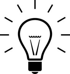 Bulb. Vector illustration