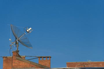 Paraboloid antenna