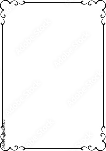 vector decorative frame stok g rseller ve telifsiz. Black Bedroom Furniture Sets. Home Design Ideas
