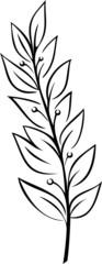 Laurel Branch (Vector)