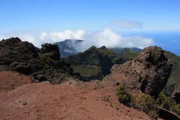 volcanic landscape on Madeira