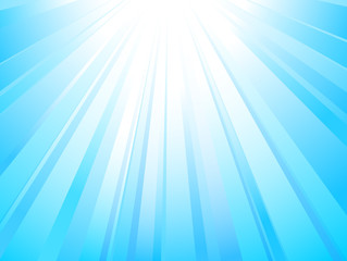 Sunlight. Abstract vector background