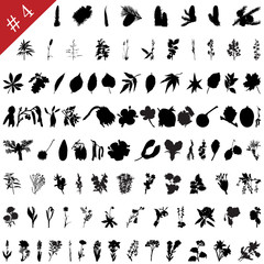 plants silhouette collection # 4