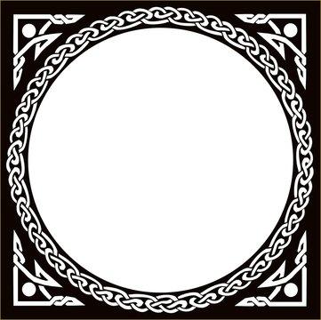 Celtic Circle Black