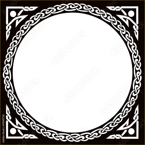 """Celtic Circle Black"""" Stock image and royalty-free vector files on ..."""