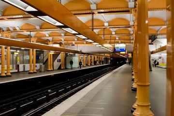 Paris Metro - Subway Station