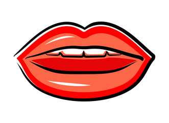 Cherry lips (Vector)