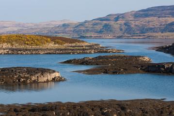 Oskamull shoreline
