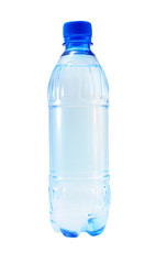 Bottle of mineral water.
