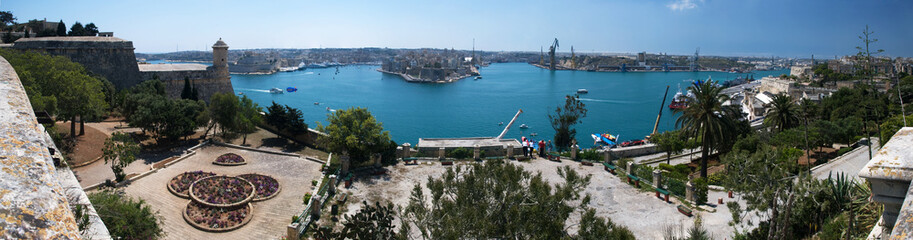 Grand harbour Panorama