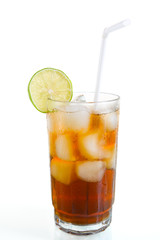 Ice tea or cola
