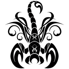 Scorpione Tatuaggio-Scorpio Tatoo-Tatouage Scorpion