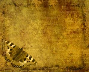 Papiers peints Papillons dans Grunge Grunge background