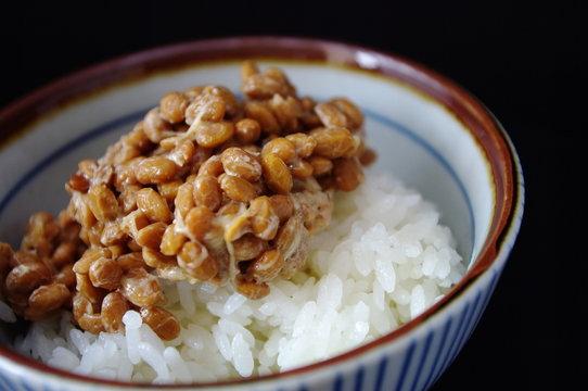 ご飯と納豆
