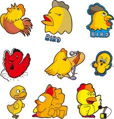 chicken set six