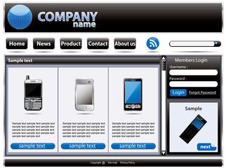 Web site interface v.40