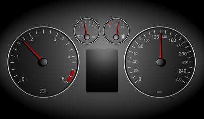 Tacho mit 130km/h Limit