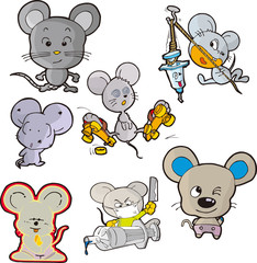 mouse set six